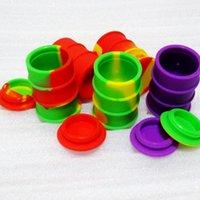El mejor butano Hash aceite de silicona antiadherente contenedor aceite tambor barril de silicona contenedor de cera
