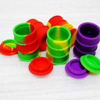 Meilleur Butane Hash Huile Silicone Contenant antiadhésif Oil Drum Barrel Silicone Wax Container