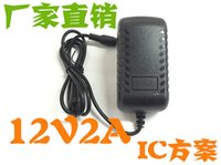 Wholesale 10pcs V to DC V A x0 mm US Plug adapter charger Power Supply Adapter for lighting digital etc