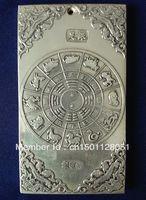 Wholesale tibetan silver tibet Nepal child elephant dragon statue TAICHI amulet thangka