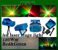 Wholesale Brand New Blue Mini LED Laser Projector DJ Disco Bar Stage House Lighting Professional stage Light Galaxy Mini Red Green bulb free