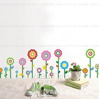 baseboard designs - 10 home decor generation decorative wall stickers bedroom wall stickers living room bedroom baseboard sunflowers wall stickers