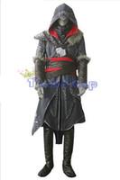 Creed Revelation Ezio épais Denim Cosplay Halloween Hommes Costume Express de l'expédition de Assassin