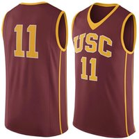 basketball usc - No USC Trojans College Basketball Jersey embroidery setback cheap Jerseys men size S XL fast shipping