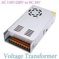 ac dc case - AC V V to DC V A W Voltage Transformer Switch Power Supply for Led Strip Metal Case Voltage Converter