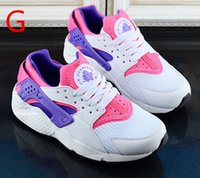 Wholesale 2015 New Men Women all black gray red white trainers huraches Sneakers Casual Running Shoes chaussure Femme Sport huarches NXX86