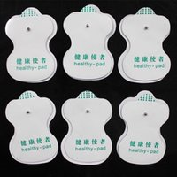 Wholesale 2 Pieces Electrode Pads Healthy Pad For Backlight Tens Acupuncture Digital Therapy Machine Massager Relaxation