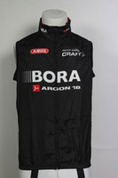 Wholesale 2015 BORA black red Cycling Windproof Vest ciclismo clothes sleeveless wind jacket bike sports Maillot cycle MTB ridding maillot