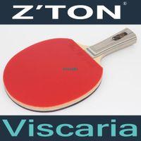 brand tennis racket - Z TON Viscaria Brand Quality Table tennis racket Pimples in rubber Ping Pong Racket Taksim tenis de mesa