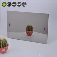 Wholesale 22 Inch Bathroom Waterproof LED TV Household Vital Item Mirror Television With USB HDMI DVB T FreeView Factory Direct Sale