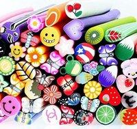 nail art supplies - 100pcs D Fimo Nail Tools Art Nail Sticks Stickers Gel Decorations Decals Supplies E094503