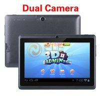 Wholesale inch dual core android tablet pc Q88 pro Allwinner A23 a13 android dual camera WIFI OTG capacitive screen cheapest