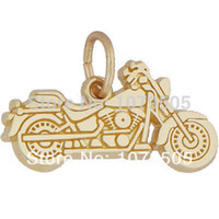alloy motorcycle accessories - hot sale hot sales a gold rhodium plated alloy motorcycle charms jewelry accessory
