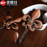antique style curtains - The new European antique big plum thickened zinc alloy curtain wall hooks hook upscale European style curtain wall hooks plating