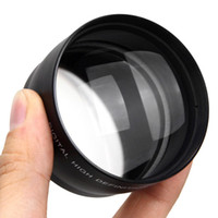 Wholesale 58mm x HD Telephoto Zoom Lens for Canon Nikon Sony Pentax MM DSLR Camera