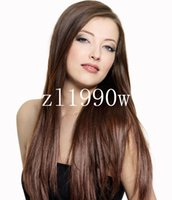 hand tied full lace wig - 8 quot quot Full Lace Wigs Front Lace Wig Indian Brazilian Remy Hair B Human Hair Glueless Density Straight Lace Wigs Hand Tied Wigs