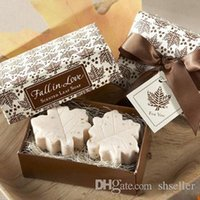 best scented soaps - Deal Creative Gift Handmade Mini Scented Soaps Maple Leaf Design Bath Soap Best Gift Wedding Party A2