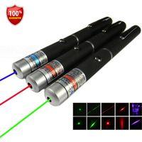 Wholesale car new Powerful Green Red Blue Laser Pointer Pen Beam Light High Power puntero laser lazer