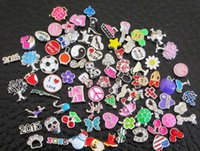 Wholesale zinc alloy mix style floating charms for glass living locket