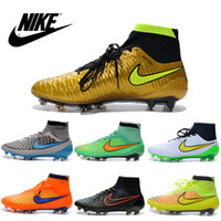 pvc boots - Nike Men s Magista Obra FG with ACC Soccer Boots Cleats Laser original Men shoes Soccer Shoes Football Shoes