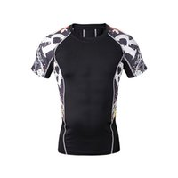 Wholesale camisetas gym cycling shirt cycling shirt gym life fitness uniformes de artes marciales life track compression shirts