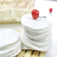 Wholesale L1092pcs Washable Ecological Cotton Breast Nursing Pads Reusable Breastfeeding Absorbent