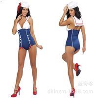 Jouets sexuels Prix-Sailor cosplay Jumpsuit femmes Sexy Temptation Uniform Sex jeux de rôles sexuels lingeries Jeu Party Dress Adult Apparels Sex Toys