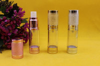 empty lotion bottles - 20pcs ml Empty Airless Vacuum Bottle Container Refill Cosmetic Cream Lotion Serum Portable Lotion Bottle For gels lotions liquid makeup