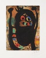 artist reproduction canvas - Joan Miro decoration oil painting La Femme aux Bijoux famous artist reproduction
