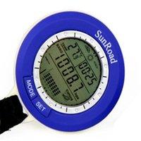 barometer types - Multifunctional electronic fishing barometer altmeter elevation table thermometer waterproof type