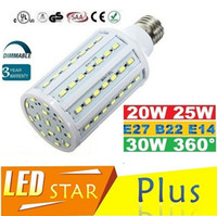 Wholesale Dimmable E27 E14 B15 B22 Led Lights Bulbs Light W W W Led Corn Lights Chandelier Lamp AC V