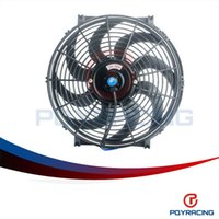 Wholesale PQY STORE Inch Universal V W Slim Reversible Electric Radiator AUTO FAN Push Pull With mounting kit Type S quot PQY FAN14