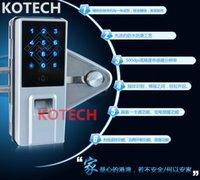 Wholesale KO GF800 NICE DESIGN GLASS Door Lock Fingerprint Door Lock