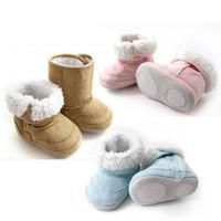 Wholesale New Arrivals Baby Kids Infants Toddler Children Warm Winter Snow Shoes Boots Months ax36