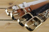 Wholesale New Fashion Women s faux leather metal buckle belts Girls Fashion Accessories SV012754