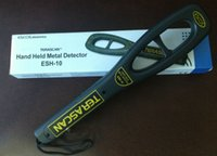 Wholesale High sensitivity V Mini Handheld Metal Detector TERASCAN ESH Security Check Portable Handheld Metal Detector