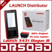 Wholesale 2015 Global Version Launch X431 Diagun III Universal Full System Car Diagnostic Scan Tool Free online Update Launch Diagun
