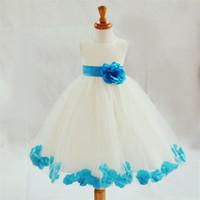 Wholesale New Summer dresses for Girls flower girl Dress Kids Clothing Children s Wear NOVA Fashion Toddler Princess baby girl Dress