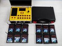 Envío libre 2016 del Año Nuevo Productos 48 Cues fuegos artificiales de control a distancia de disparo de encendido Sistema de radio fuego pantalla electrónica Wire
