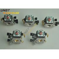 carburetor 2 stroke - 5pcs Carburetor For FS80 FS85 HL75 FC75 FC85 SP80 KM80 HS80 KM85 String Trimmer FS85 CARB