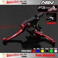 asv lever parts - Aluminum CNC ASV F3 ND Folding Clutch And Brake Lever For Dirt Bike Pit Bike Spare Parts order lt no track