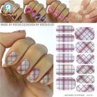 airbrush manicure - Belleza Tools for manicure nail art Stickers airbrush stencil Water Transfer Foils Stickers Manicure Decals design
