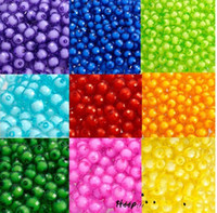 Wholesale 2015 Hot selling mm Acrylic Scattered Beads for Ornaments Bags Bead Bracelet Accessories Decorations color in stock