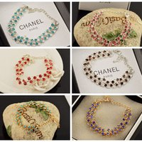 best sweet candy - 10 Candy Color Bead Gem Bracelet For Women Sweet Unique Elegant All match Bangle Fashion Jewelry Best Gift