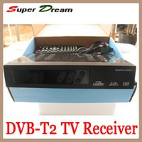 Cheap Cheap DVB T2 Receiver Digital Terrestrial satellite HD TV Receiver Compatible with MPEG-2 MPEG-4 H.264 DVB-T2 HDMI Set top box