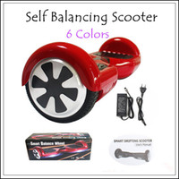 scooter electric - Smart Balance Wheel Two Wheel Self Balancing Electric Scooter LG Samsung mah Battery with Retail Box Electric Haverboard Scooter Color