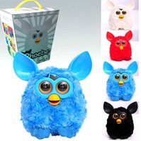 big records - 7 Colors Furby Boom Plush Toy Talking Phoebe Firbi Elves Recording Pelucia Electronic Toys Gift for Kids Children Christmas CW0334