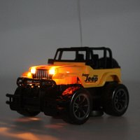 baby remote car - Kids Baby Toy Children s Toys Drift Speed Radio Remote control RC Jeep Off road vehicle Headlight rc car Baby Toys Gift FCI
