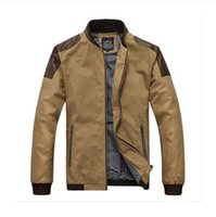 korean leather jacket - Brand Design Mens Casual Jackets PU Leather Patchwork Mens Designer Jackets Korean Slim Stand up Collar Jackets N8