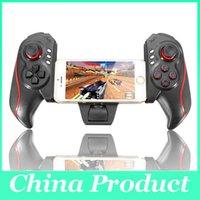 Más nuevo BTC-938 inalámbrico controlador de juegos telescópico joystick Gamepad para Android Tablet PC TV Smartphone caja 010210